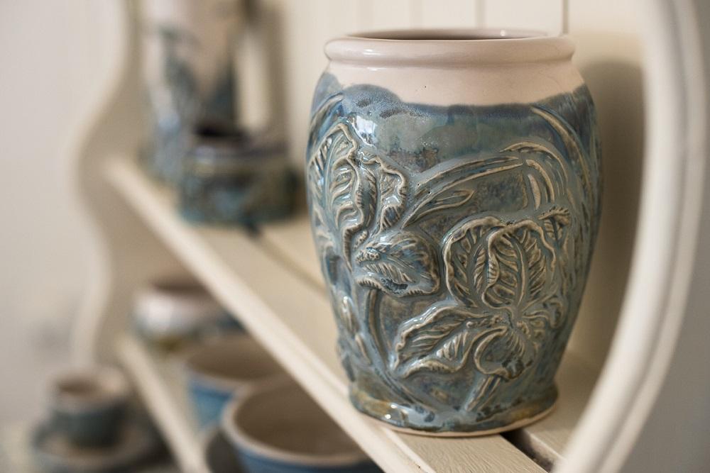 Celtic Vase Busy Bee Ceramics